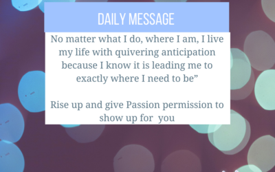 My Passion is dimming…