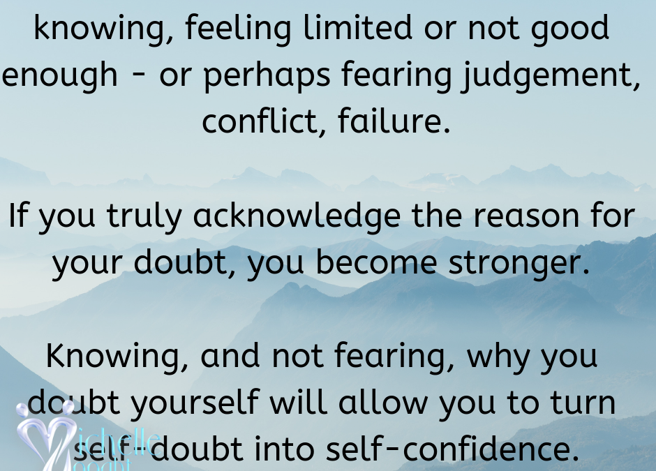 How to NOT doubt yourself