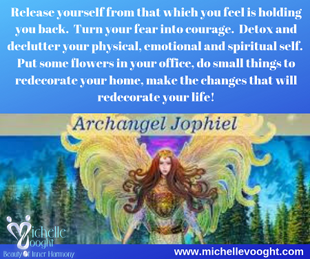 A message from Archangel Jophiel