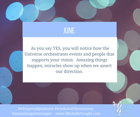 The month of June 2018