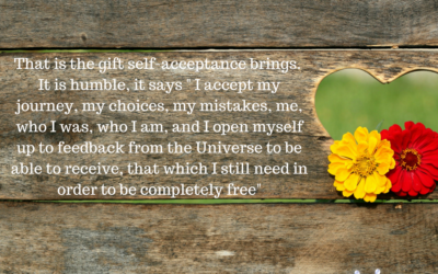 The gift of self-acceptance