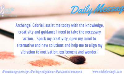 Take the action today! With Archangel Gabriel…