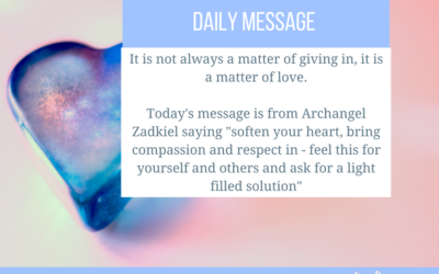 A Message from Archangel Zadkiel