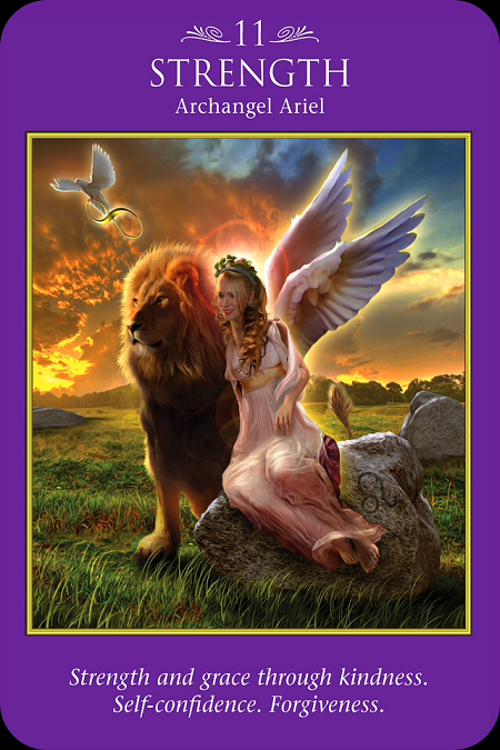 A Message from Archangel Ariel on Strength