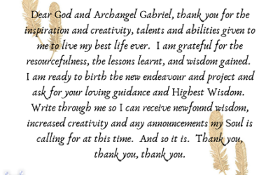 Creativity with Archangel Gabriel