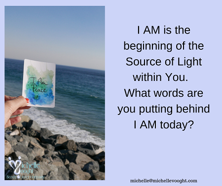 I AM – Pay attention to your words Today