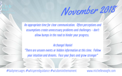 Annual Angel Messages 2018 for November