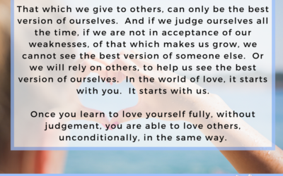 The Love We Give to Others