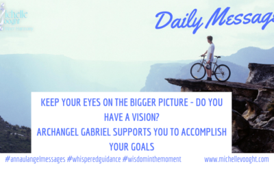 The bigger picture with Archangel Gabriel