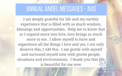 Message for August 2018