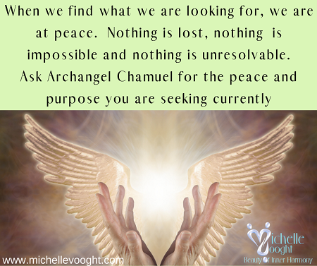 Archangel Chamuel – what are you looking for?