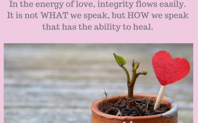 In the Energy of Love, Integrity Flows