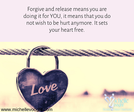 A forgiveness and cord cutting ritual