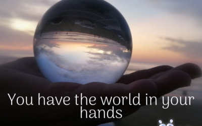 You have the whole world in your hands