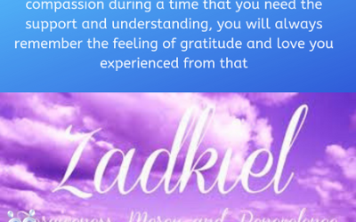 Message from Archangel Zadkiel