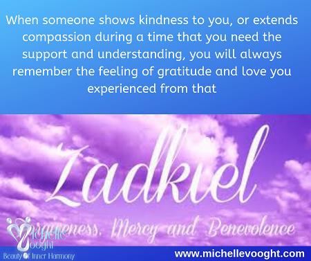 Message from Archangel Zadkiel